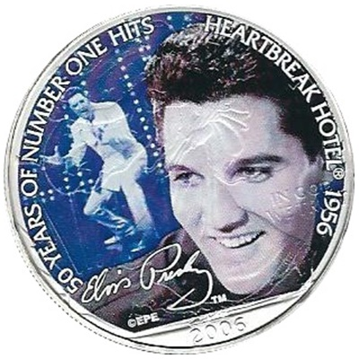 2006 1oz Silver Eagle - Heartbreak Hotel 1956